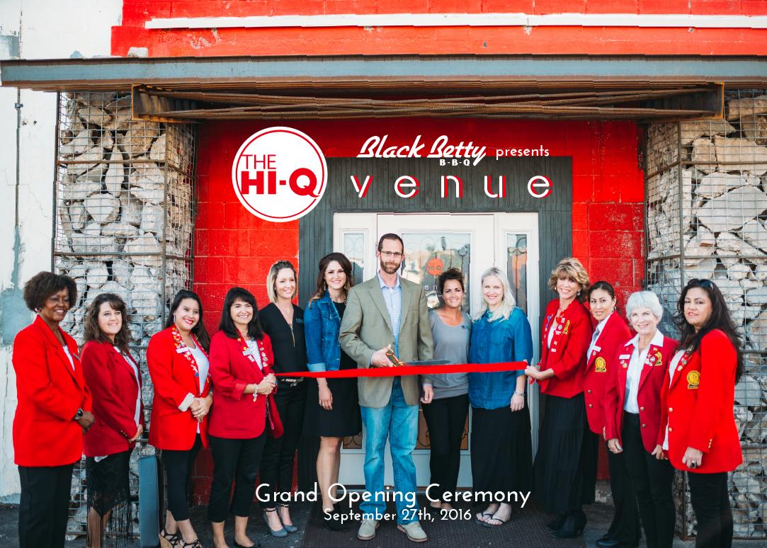 The HiQ Venue Grand Opening - 2016